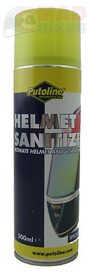 MOTORCYCLE CRASH HELMET SCENTED SANITIZER & CLEANER, MOTOCROSS, TRIALS,MX, 500ml