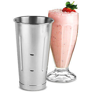 Stainless Steel Malt Cup 30oz | Milkshake Cup, Smoothie Cup, Mixing Tin