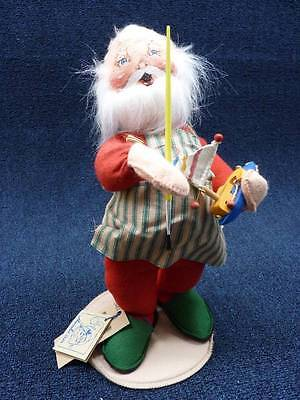 "Annalee Dolls Toy Maker Santa 1996 14"" (b316)"