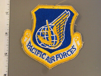 1996 new design USAF Pacific Air Force Institute Heraldry (TIOH) sample patch