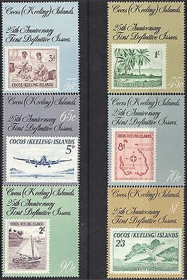 STAMPS AUSTRALIA COCOS (KEELING) ISLAND  1988 25th Anniversary  ( MNH ) 742