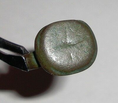 Ancient Roman Empire, 1st - 3rd c. AD. Bronze Ring.