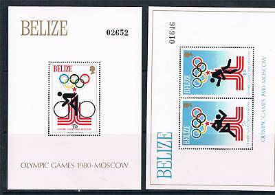 Belize 1979 Olympics Moscow MS SG 522 MNH