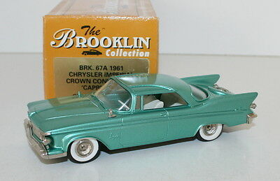 BROOKLIN MODELS 1/43 BRK67 001 - 1961 CHRYSLER IMPERIAL SOUTHAMPTON COUPE