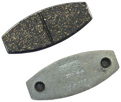 New Mcp Karting Brake Pads (2),black,for 650,650Ep,650M,1125,1125B Calipers,etc
