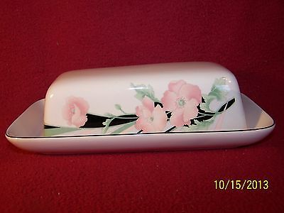 Sango ~ Jolie ~ 1/4 Pound Covered Butter Dish