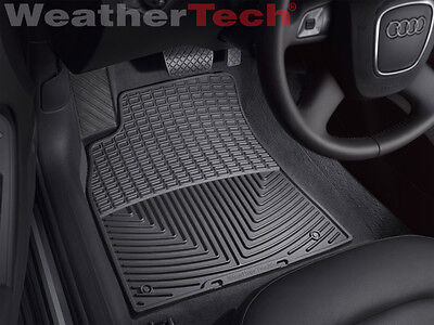 WeatherTech All-Weather Floor Mats for Audi A5/S5/RS5 - 2008-2015 - Black