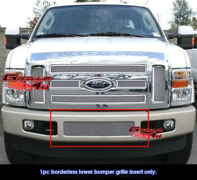 Fits Ford F-250/F-350/F-450/F-550 Stainless Steel Mesh Grill Insert-08-2010