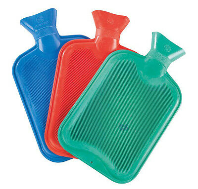 Supahome Rubber Hot Water Bed Bottle In Various Colours