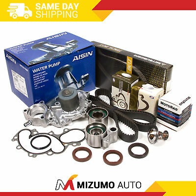 Timing Belt Kit Water Pump Thermostat Fit Toyota Pickup 4Runner Tacoma 3.4 5VZFE