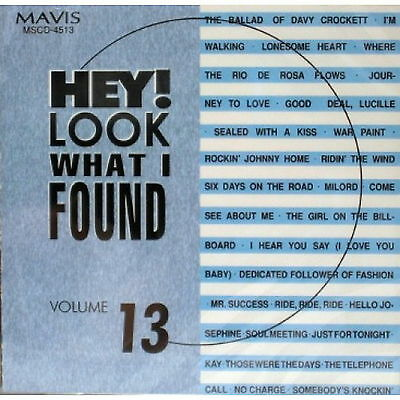 Hey Look What I Found Vol 13 CD Rare hits various artists Brand New & Sealed
