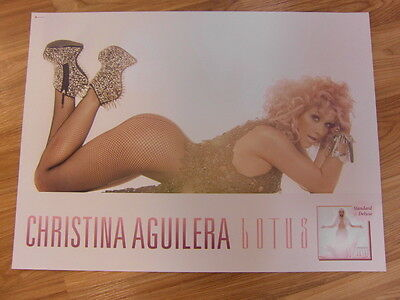 Christina Aguilera - Lotus [Original Poster] *new*