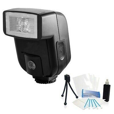 Digital Bounce Flash and Cleaning Kit for Olympus PEN E-P3 EP3 E-PL3 EPL3