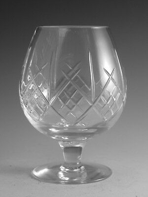 Royal DOULTON Crystal - JULIA Cut - Brandy Glass / Glasses - 4 1/2""