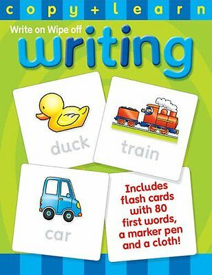 Children Child Copy & Learn Write On Wipe Off Learning Writing First Words