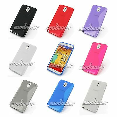Gel TPU Skin Case Cover For Samsung GALAXY Note3 III LTE N900 N9005 N9000