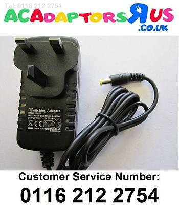 12V UK Mains Charger Power Supply Lead for Makita BMR 102 BMR102 Site Radio