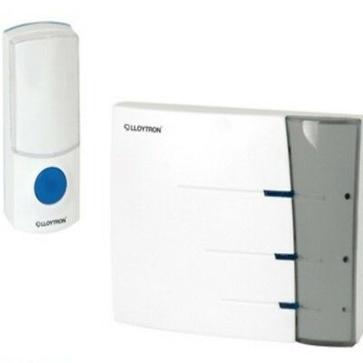White Door Bell Chime Cordless Portable Battery operated doorbell