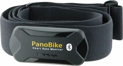 Topeak PanoBike Smart BlueTooth Heart Rate Strap Chest Size 60-110cm Pano HR Blk