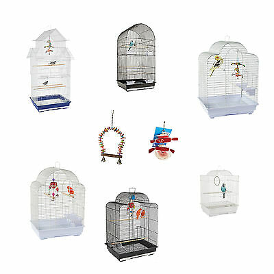 Large & Small Bird Cages Budgie Cockateil Lovebird Canary Finch New Cage