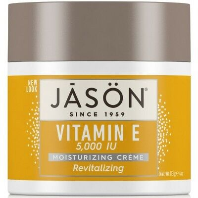 Jason Revitalizing Organic VITAMIN E 5,000 IU Moisturizing Creme Cream 113g 5000