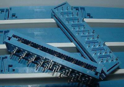 50 x 34 way 4 row IDC transition connectors T&B Ansley 609-3403