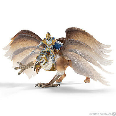 NEW SCHLEICH 70107 Griffin Rider Knight and Griffin - magnet sitting feature
