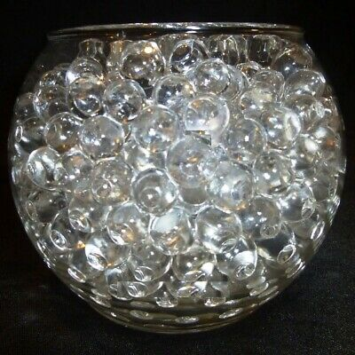 NEW Clear Water Beads Crystal Soil Gel Balls Wedding Party Decorations 10g 1L