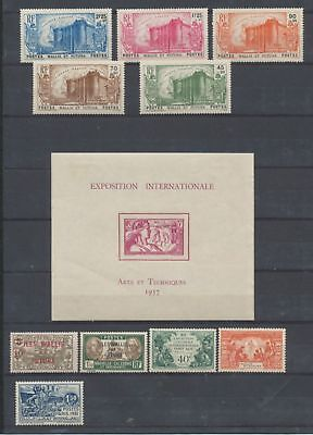 COLONIES FR WALLIS/FUTUNA Lot 10 TP+ 1 BF NEUFS*  W1452