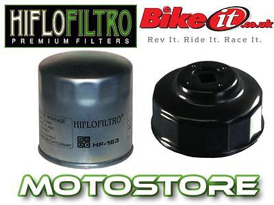 White Zinc Oil Filter & Removal Tool Fits Bmw R1150 Rs Se Rt 2002-2005