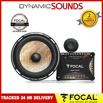 "Focal PS165FX 17 cm (6.5"") 2-Way Flax Cone Component Car Speakers Kit"