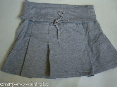 Girls Grey Casual Sporty Summer Skirt Age 12-13 years