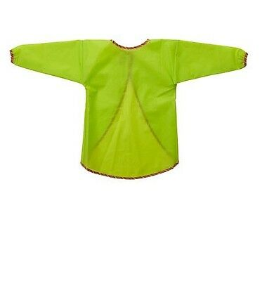 IKEA MALA Apron Kids Child Long Sleeve Waterproof Art Craft Paint Smock-NEW