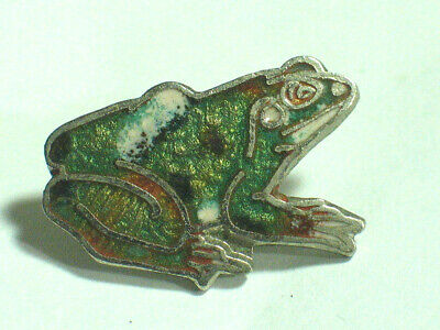 Frog Pin ? Toad Pin ?  Cloisonne