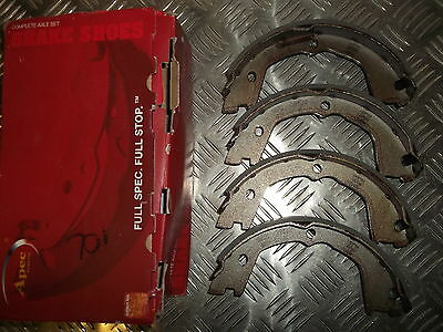 IVECO DAILY 1999-2006 SET NEW HAND BRAKE SHOES