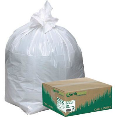 Earthsense Recycled Garbage Trash Bags 150 ct Tall Kitchen 13 gallon Heavy Duty