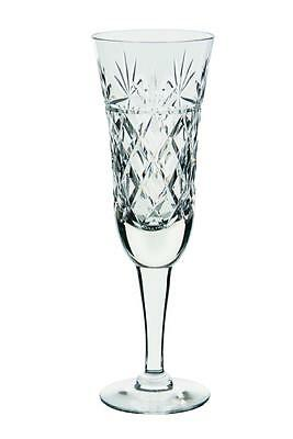 Royal BRIERLEY Crystal - TALL BRUCE Cut - Champagne Flute Glass / Glasses NEW