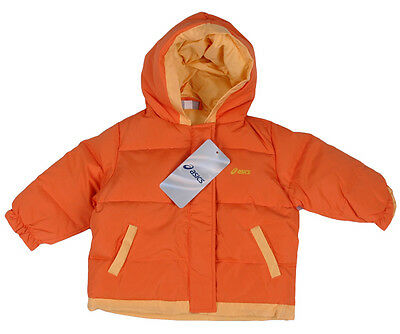 ASICS Winterjacke Steppjacke Outdoor Jacke Gr.68 NEU orange gelb