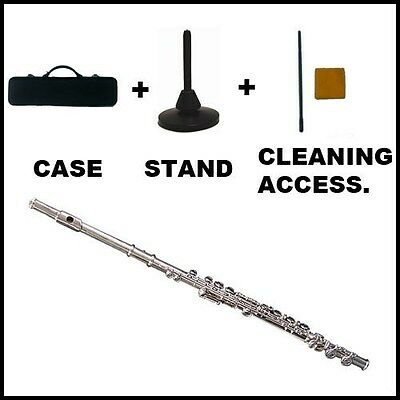 FLUTE - Beginners - Inc. Hard Case + Stand + Accessories NEW