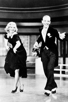 Fred Astaire Ginger Rogers Flying Down To Rio 24X36 Poster Dancing Tap Shoes