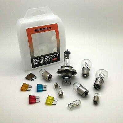 24V H7 Truck Lorry Hgv 15 pcs Emergency Spare Bulb Fuse Replacement Travel Kit