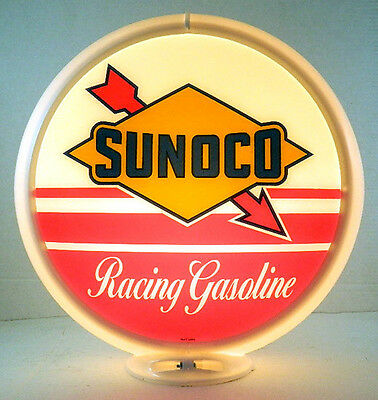 Sunoco Racing Gasoline Gas Pump Advertising Globe  G-261