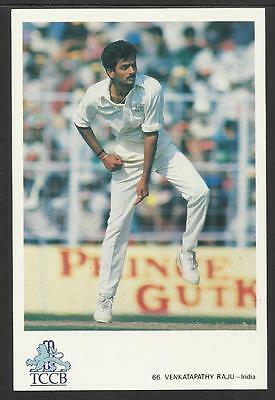VENKATAPATHY RAJU --  INDIA. OFFICIAL TCCB  POSTCARD No. 66