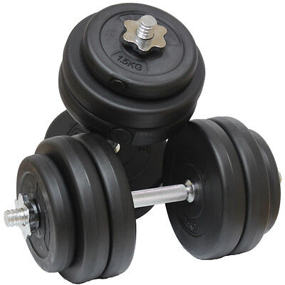 30Kg Dumbbell Free Weights Set Gym Barbells Biceps/arms/chest Workout Equipment