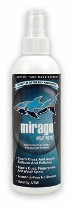 TANKED ATM MIRAGE 236ml 8oz GLASS ACRYLIC POLISH CLEANER FISH TANK TRUST SHARK