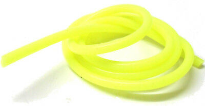 S10010Y Light Yellow Silicone RC Nitro Glow Fuel Line Tube Pipe 1 Meter 5mm  2mm