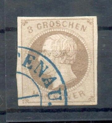 Hannover 19c FARBE gest. 300EUR (X5141