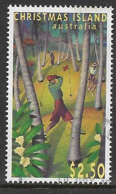 CHRISTMAS IS 1995 40th ANNIVERSARY GOLF COURSE 1v Fine Used (No.1)