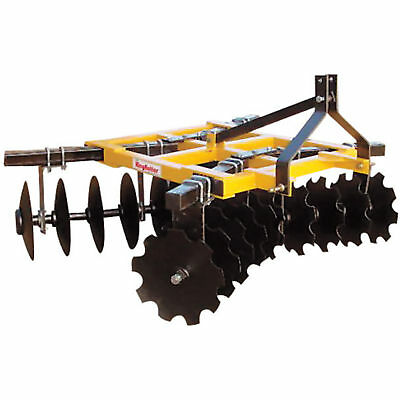 King Kutter Box Frame Disc Harrow-6 1/2-ft Combination #18-20-G-CBF-YK