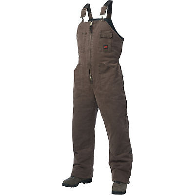 Tough Duck Washed Insulated Overall-L Chestnut #75371BCHESTNUTL